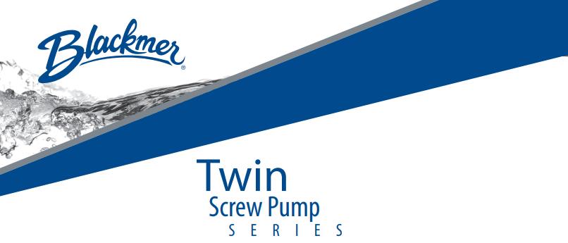 Twin Screw Pump Series