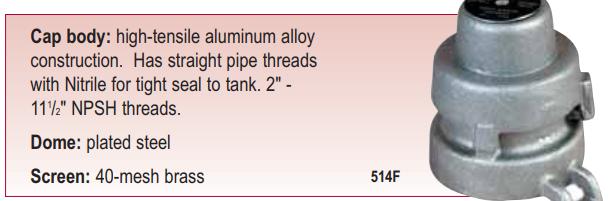 Utility Tank Vents
